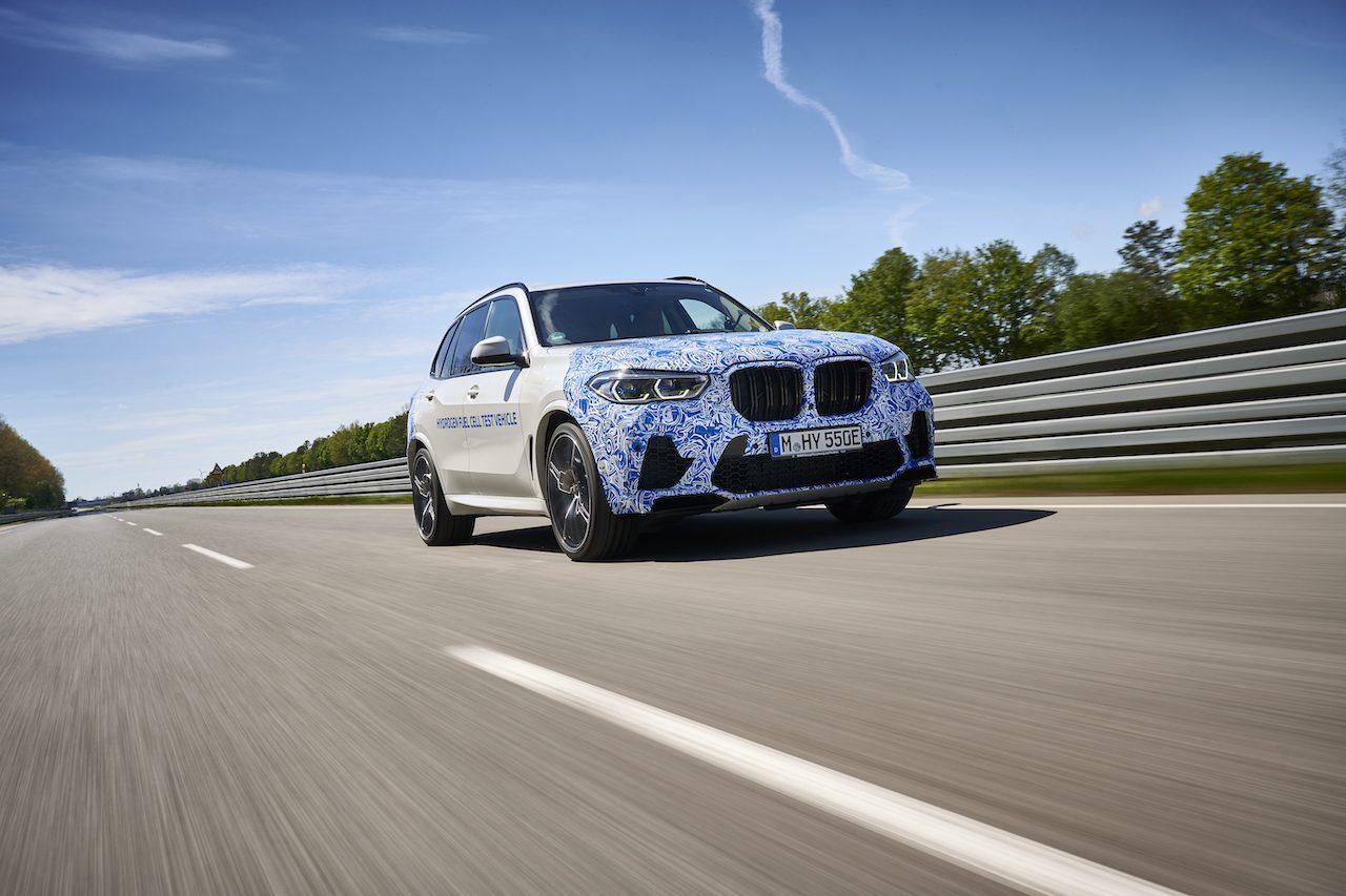 BMW X5 waterstof