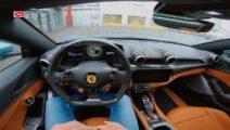 Rijden in een nieuwe Ferrari doe je zo