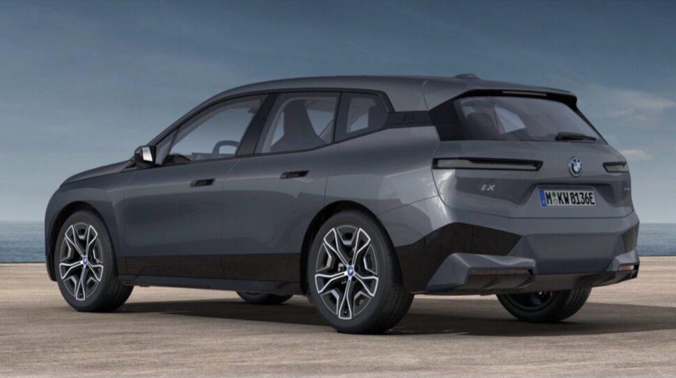 BMW iX prijzen