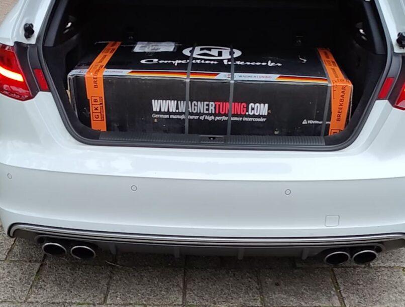 Audi S3 Wagner intercooler