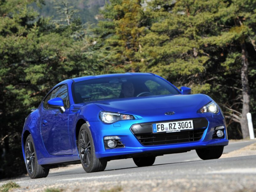 Compacte, lichte en sportieve auto