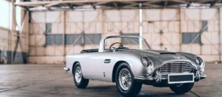 Aston Martin DB5 Junior No Time To Die Edition met échte gadgets