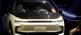 iPhone-maker Foxconn toont eerste auto's