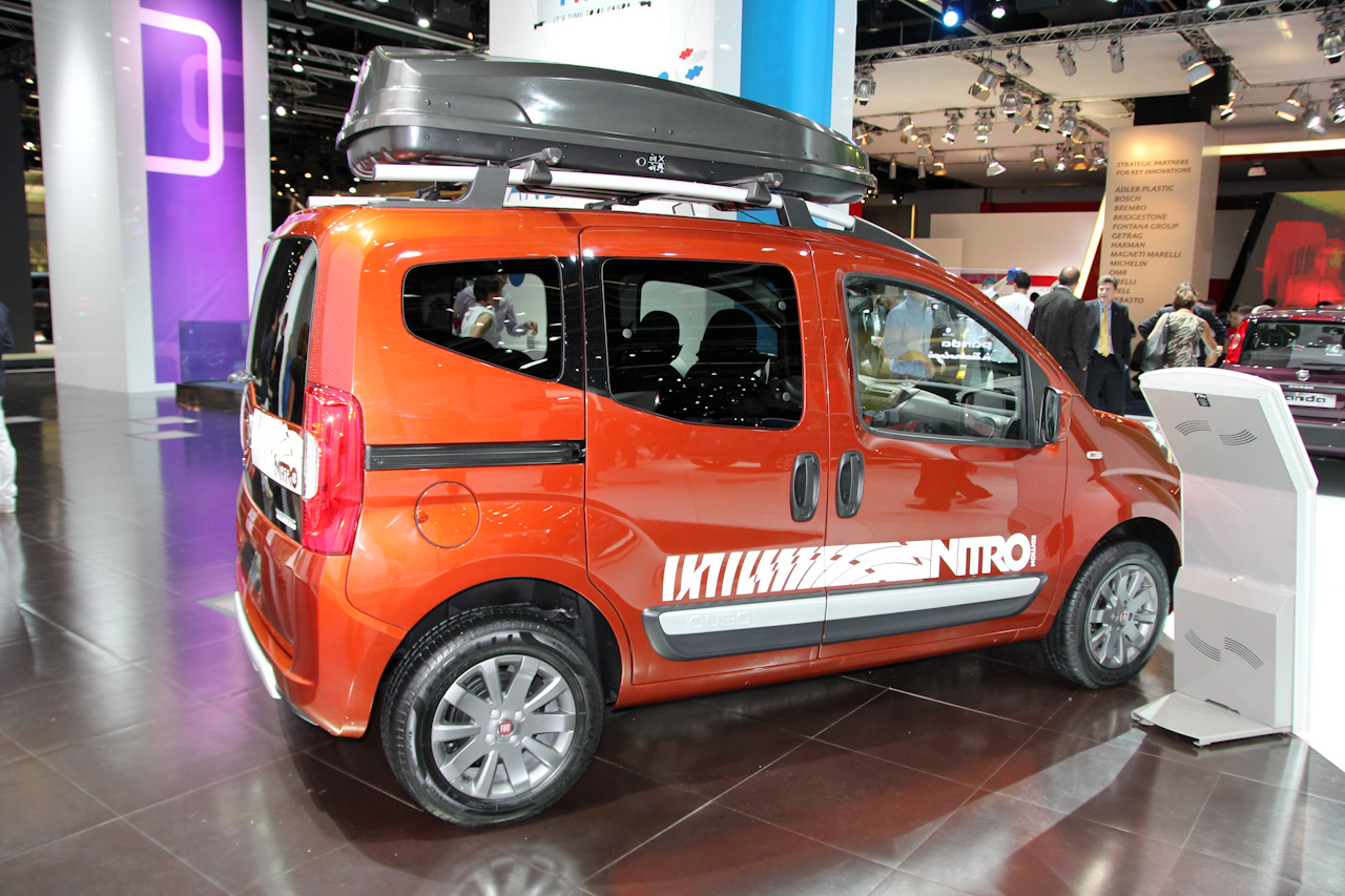 foto beurzen frankfurt 2011 fiat qubo trekking nitro qubo trekking 3248. Black Bedroom Furniture Sets. Home Design Ideas