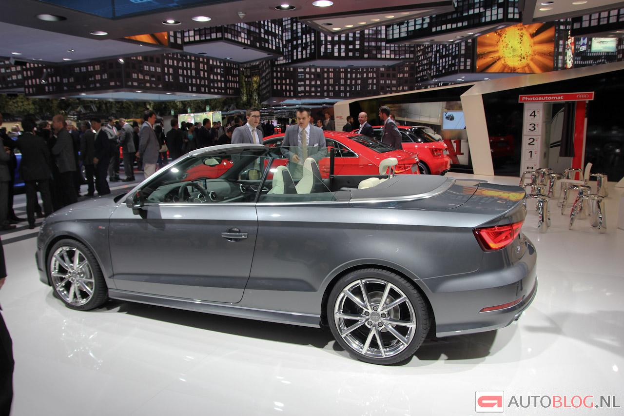 het kontje van de nieuwe audi a3 cabrio. Black Bedroom Furniture Sets. Home Design Ideas