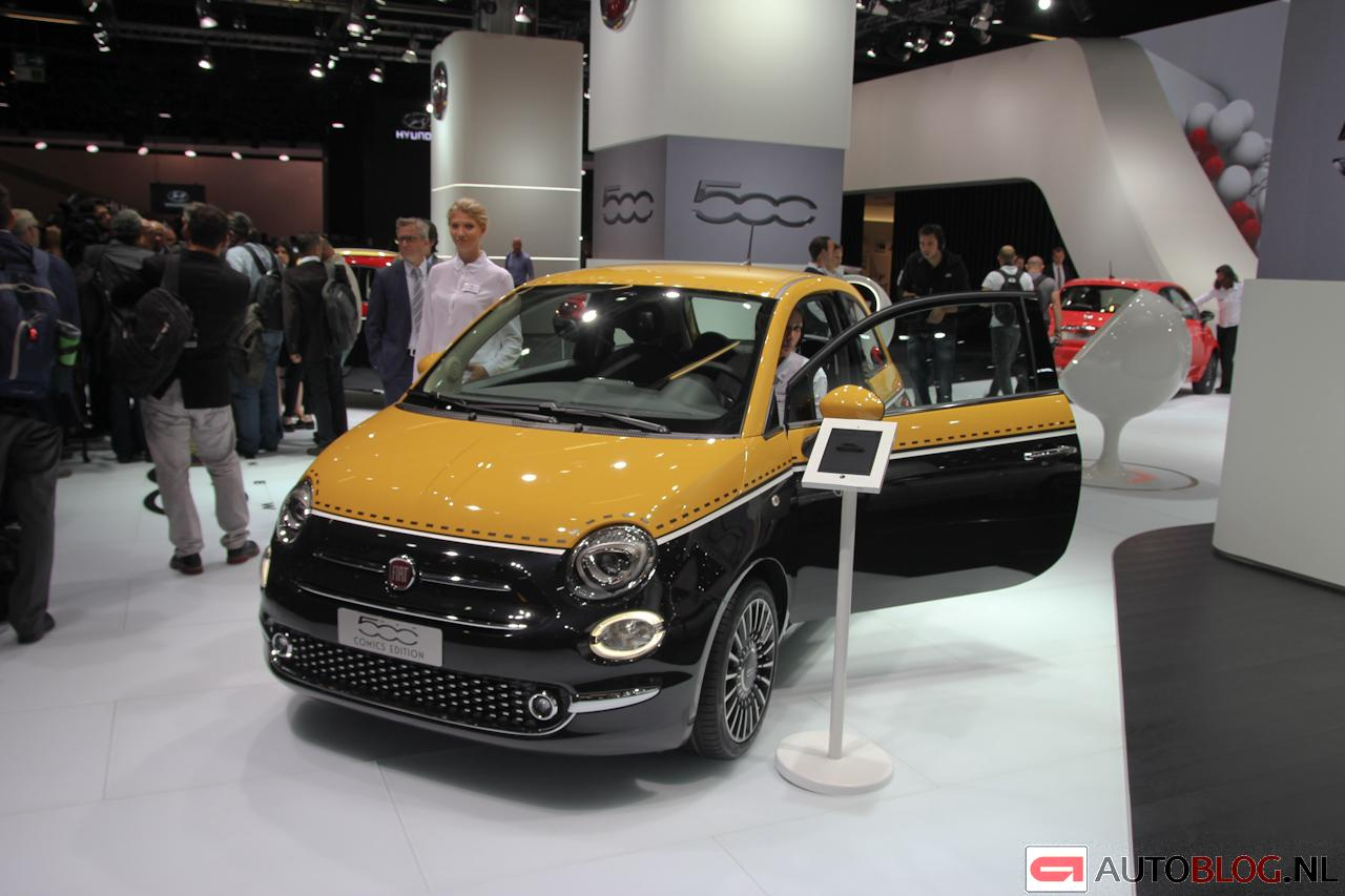 beurzen frankfurt 2015 fiat 500 facelift afbeeldingen. Black Bedroom Furniture Sets. Home Design Ideas