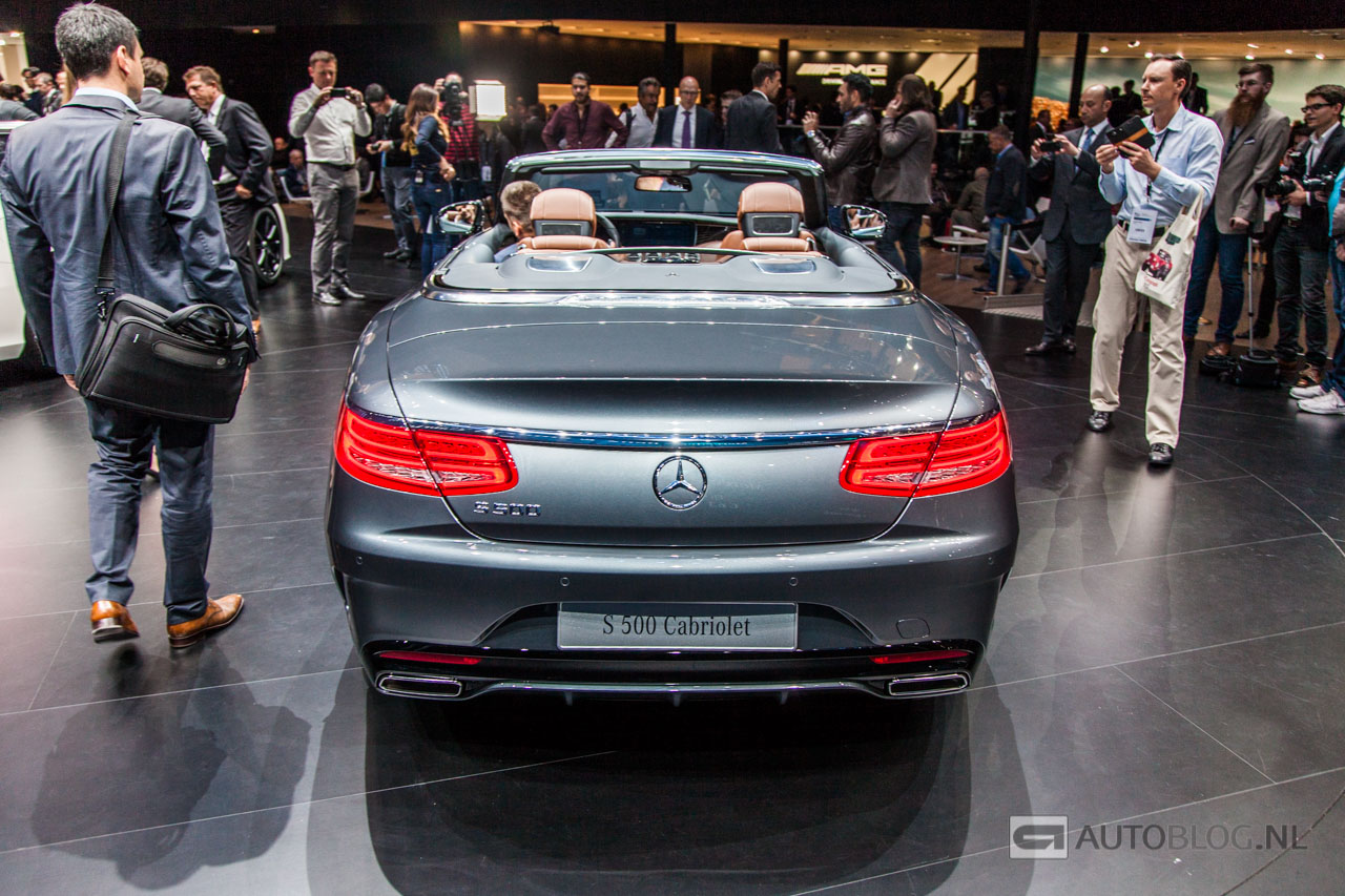 foto beurzen frankfurt 2015 mercedes s klasse cabrio. Black Bedroom Furniture Sets. Home Design Ideas