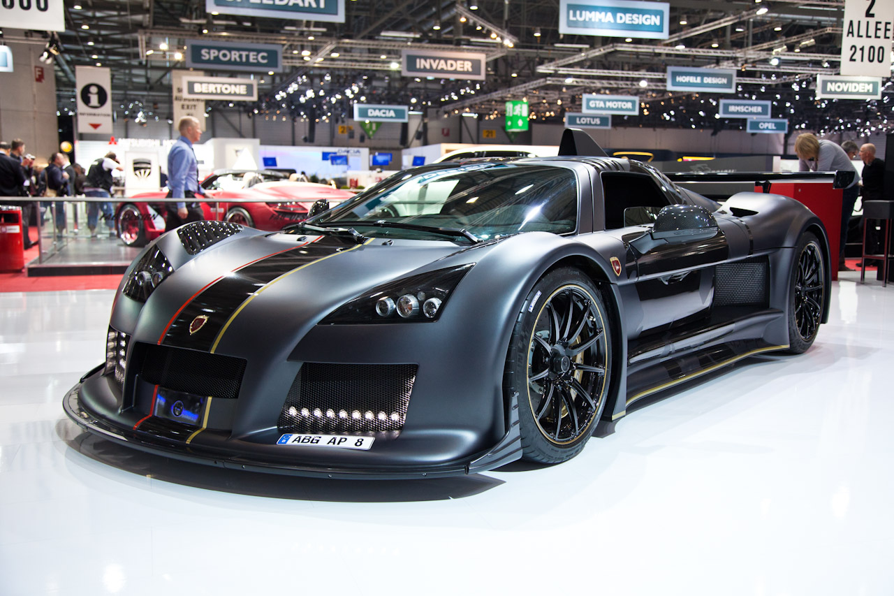 Foto Beurzen Geneve 2012 Gumpert Apollo Enraged Gumpert