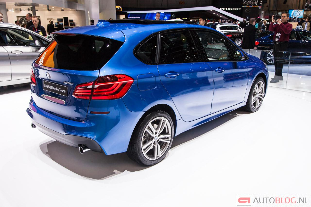 foto beurzen geneve 2014 bmw 2 serie active tourer bmw 2. Black Bedroom Furniture Sets. Home Design Ideas