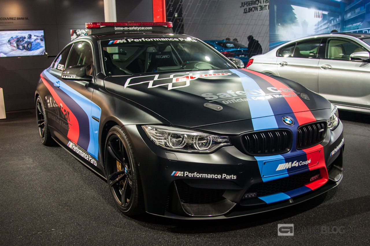 Bmw M4 Safety Car Zwaailichten En Waterinjectie In 233 233 N