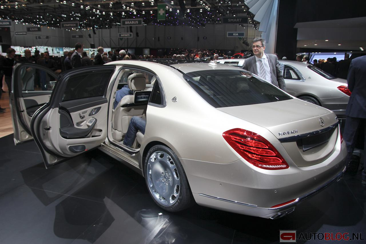 foto beurzen geneve 2015 mercedes maybach s klasse. Black Bedroom Furniture Sets. Home Design Ideas