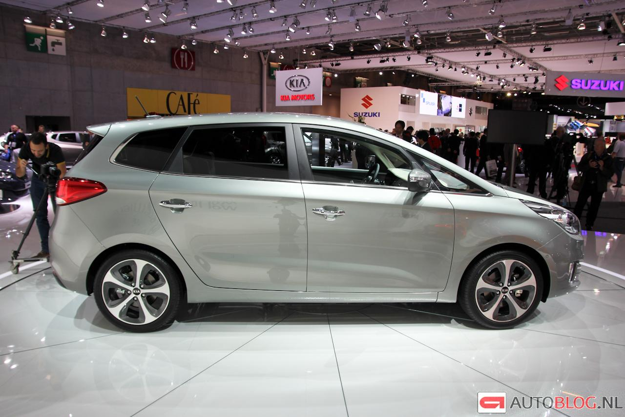 Kia Carens Gelikte People Mover Updated Autoblognl