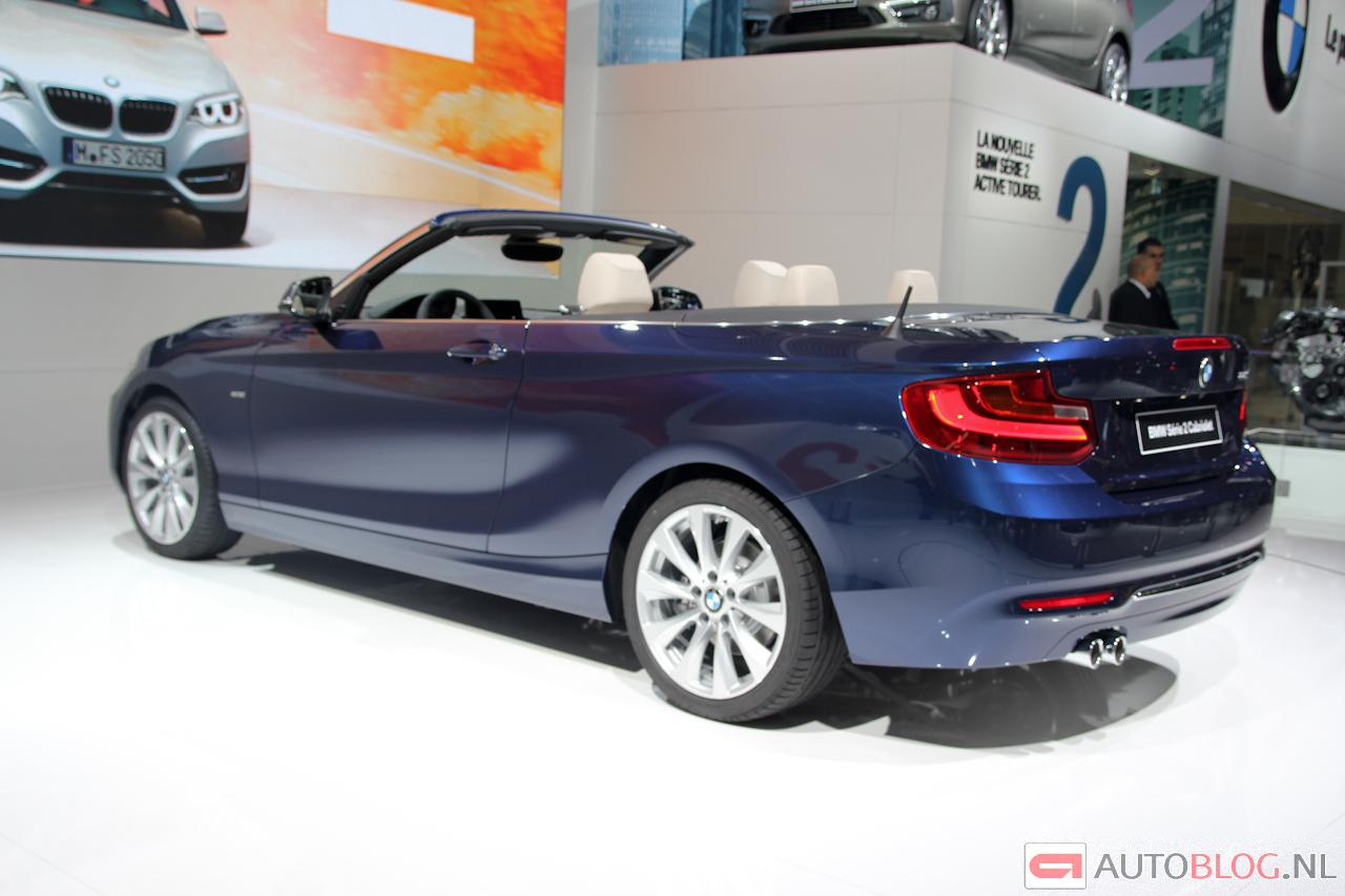 foto beurzen parijs 2014 bmw 2 serie cabrio bmw 2 serie cabriolet 2828. Black Bedroom Furniture Sets. Home Design Ideas