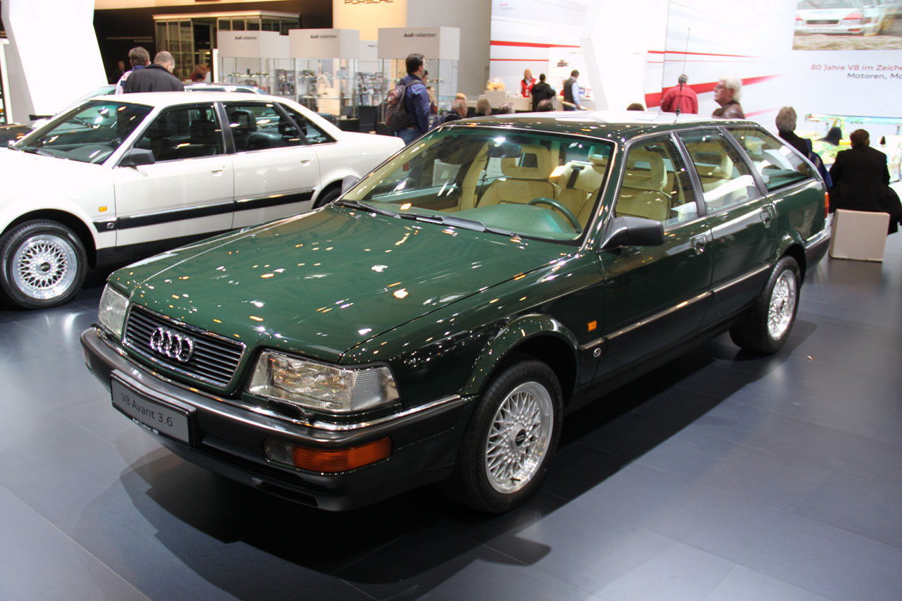 Audi V Avant on Classic Mercedes