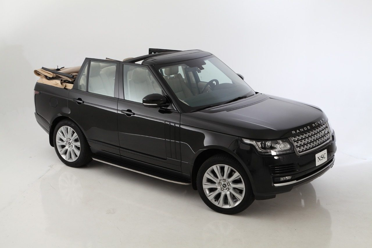 foto divers nce range rover autobiography cabrio range rover cabrio nce 01. Black Bedroom Furniture Sets. Home Design Ideas