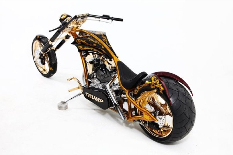 Foto Divers Orange County Choppers Trump Bike Orange