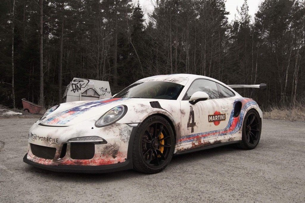Divers Rat Look Wrap Porsche 911 991 afbeeldingen ...
