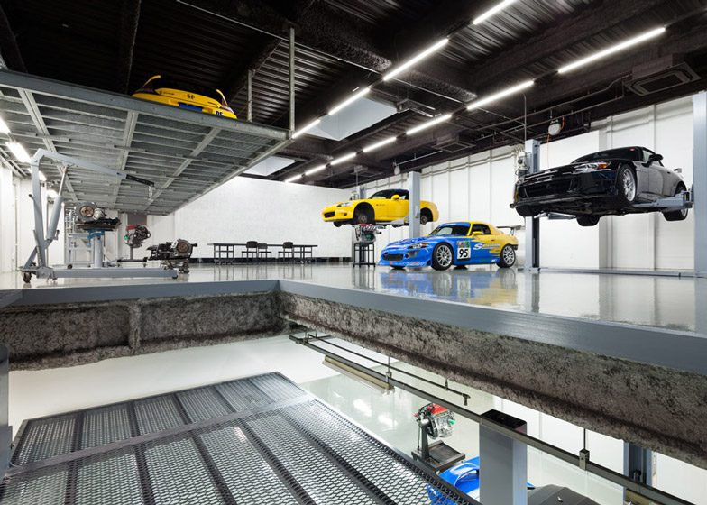 Japanse werkplaats is volledig zen for Land rover tarbes garage moderne