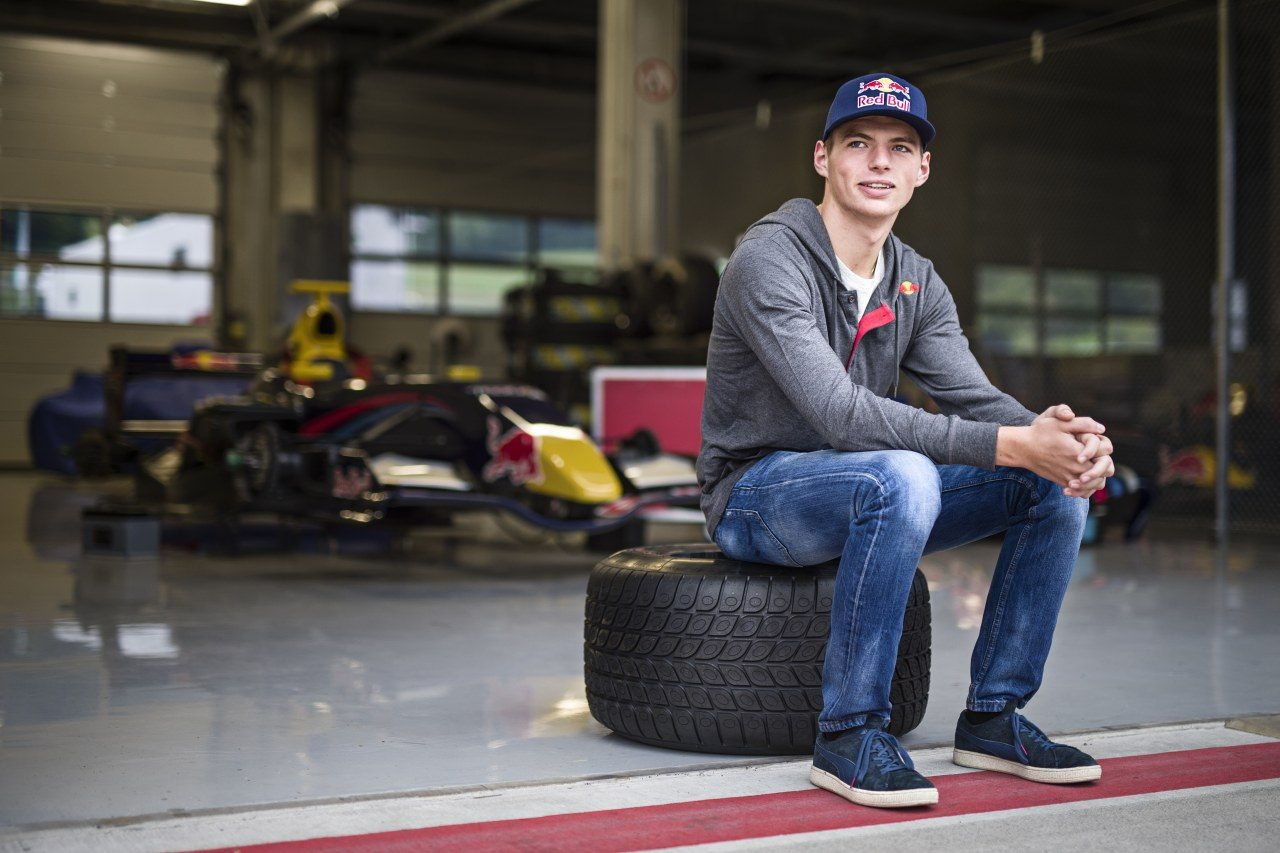 Racing Red Bull Junior Team Max Verstappen Afbeeldingen