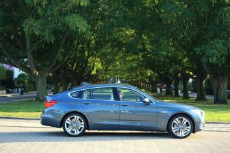 Bmw 530d Gt. slowish b-roads 530d+gt