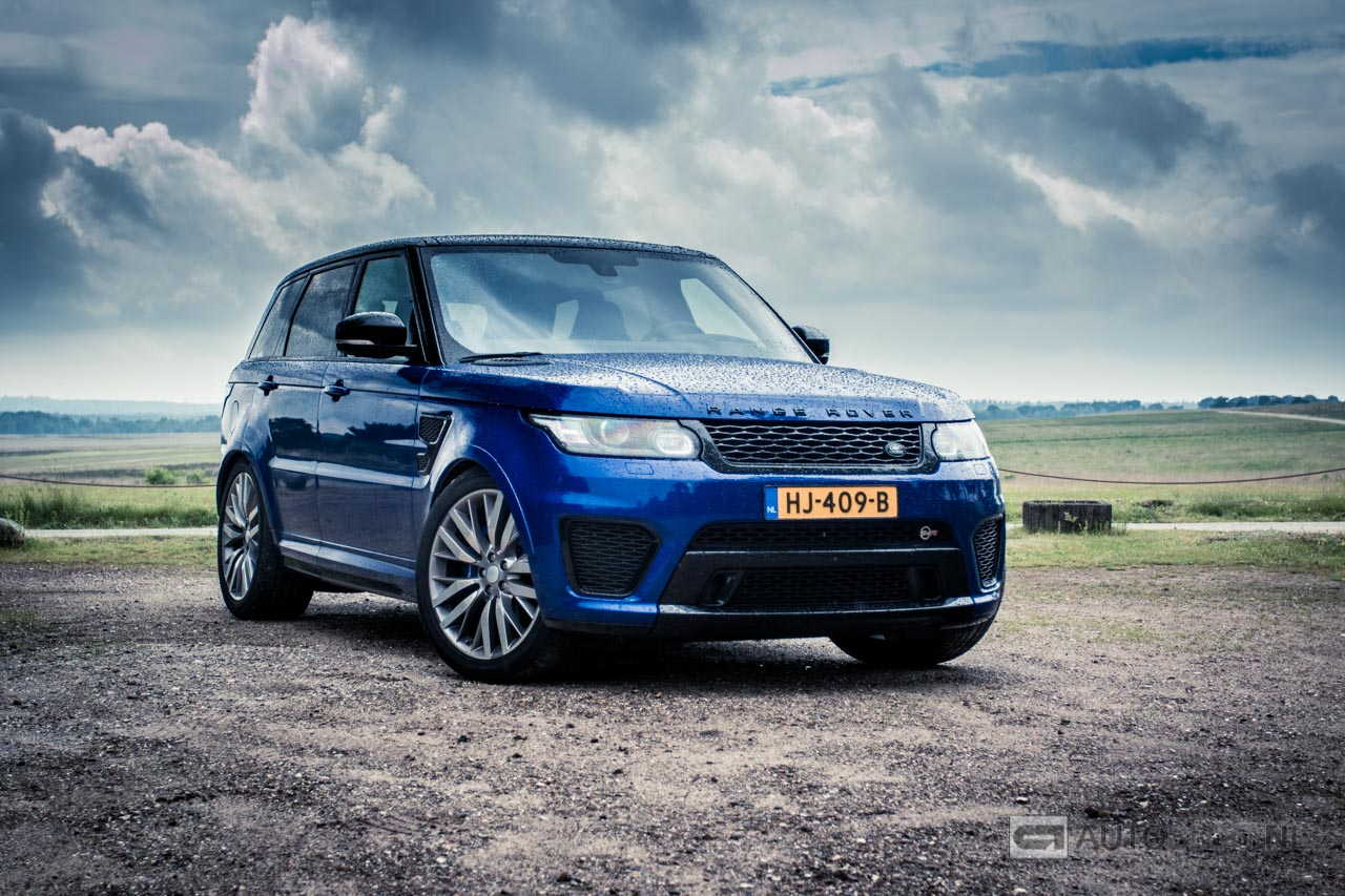 range rover sport svr rijtest en video. Black Bedroom Furniture Sets. Home Design Ideas