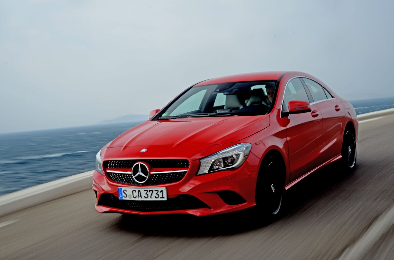 Foto: Reviews Mercedes Benz CLA kleuren Mercedes Benz CLA ...