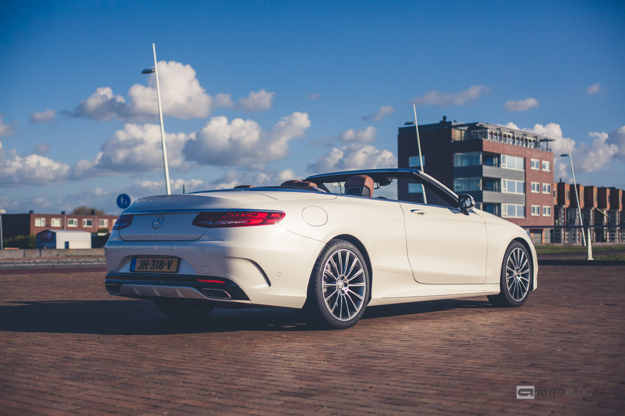 Mercedes S Klasse S500 Cabriolet Rijtest En Video