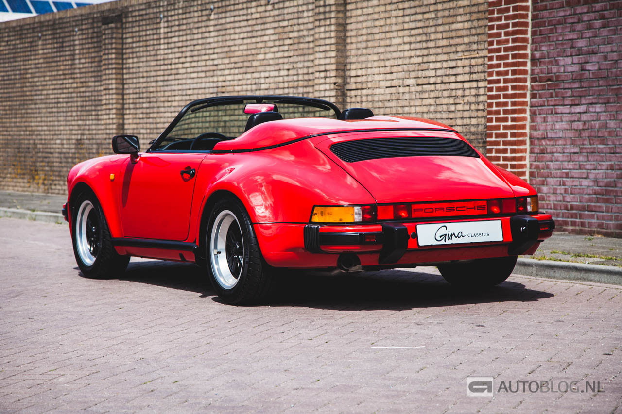 Porsche 911 Speedster 1989 Classic Rijtest En Video