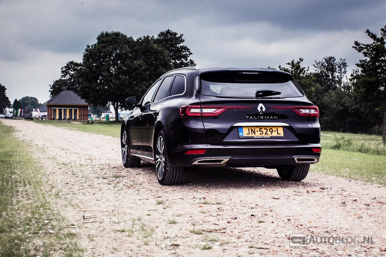 renault talisman estate rijtest en video. Black Bedroom Furniture Sets. Home Design Ideas