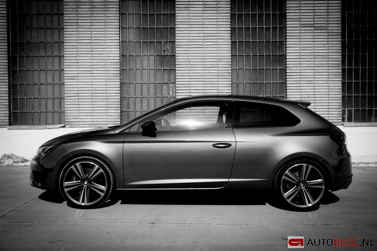 seat leon cupra rijtest en video. Black Bedroom Furniture Sets. Home Design Ideas