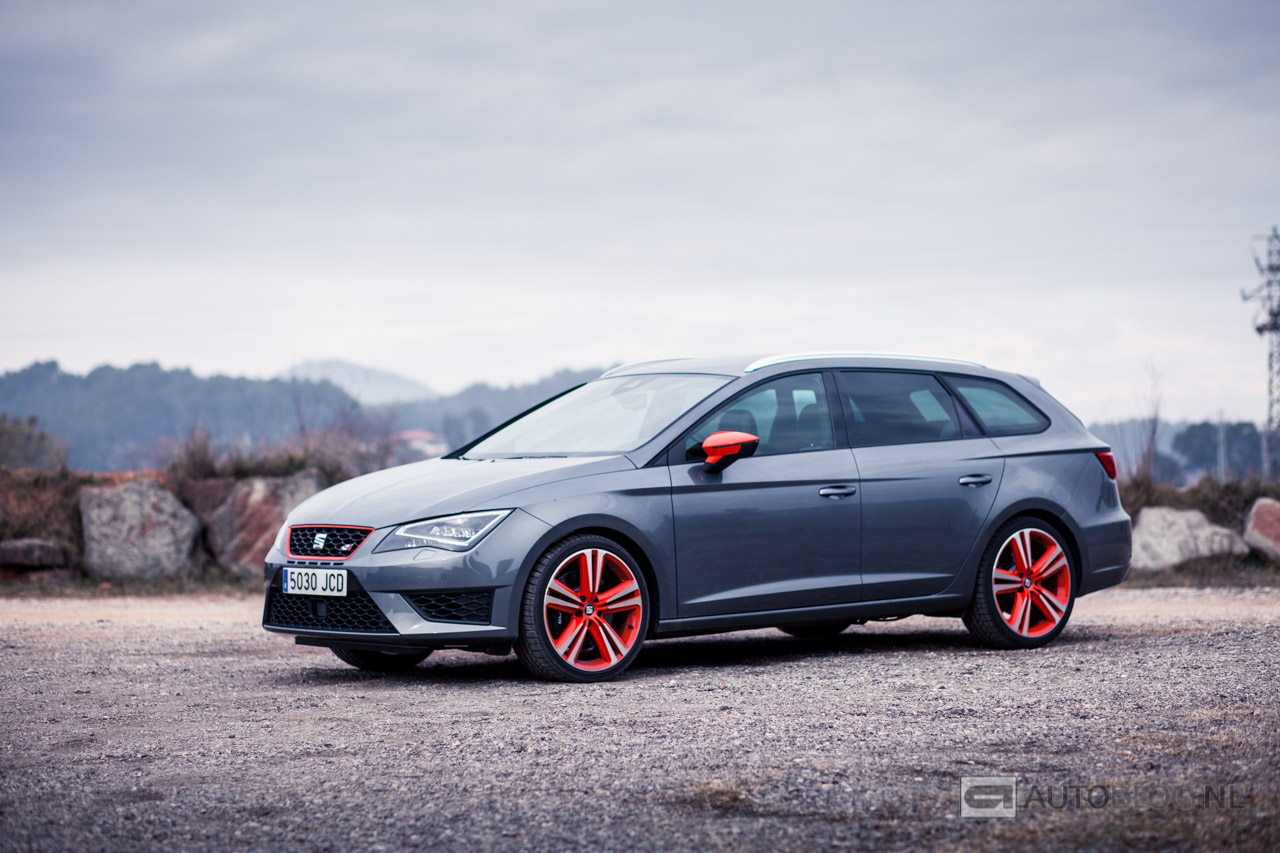 seat leon st cupra 280 rijtest en video. Black Bedroom Furniture Sets. Home Design Ideas