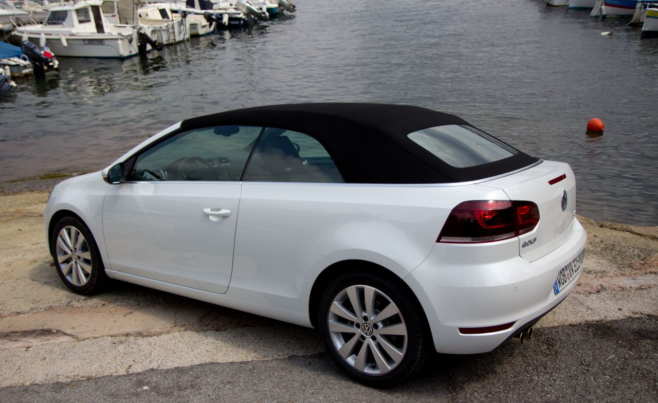 Lease A Range Rover >> Foto: Reviews Volkswagen Golf VI Cabriolet Volkswagen Golf ...