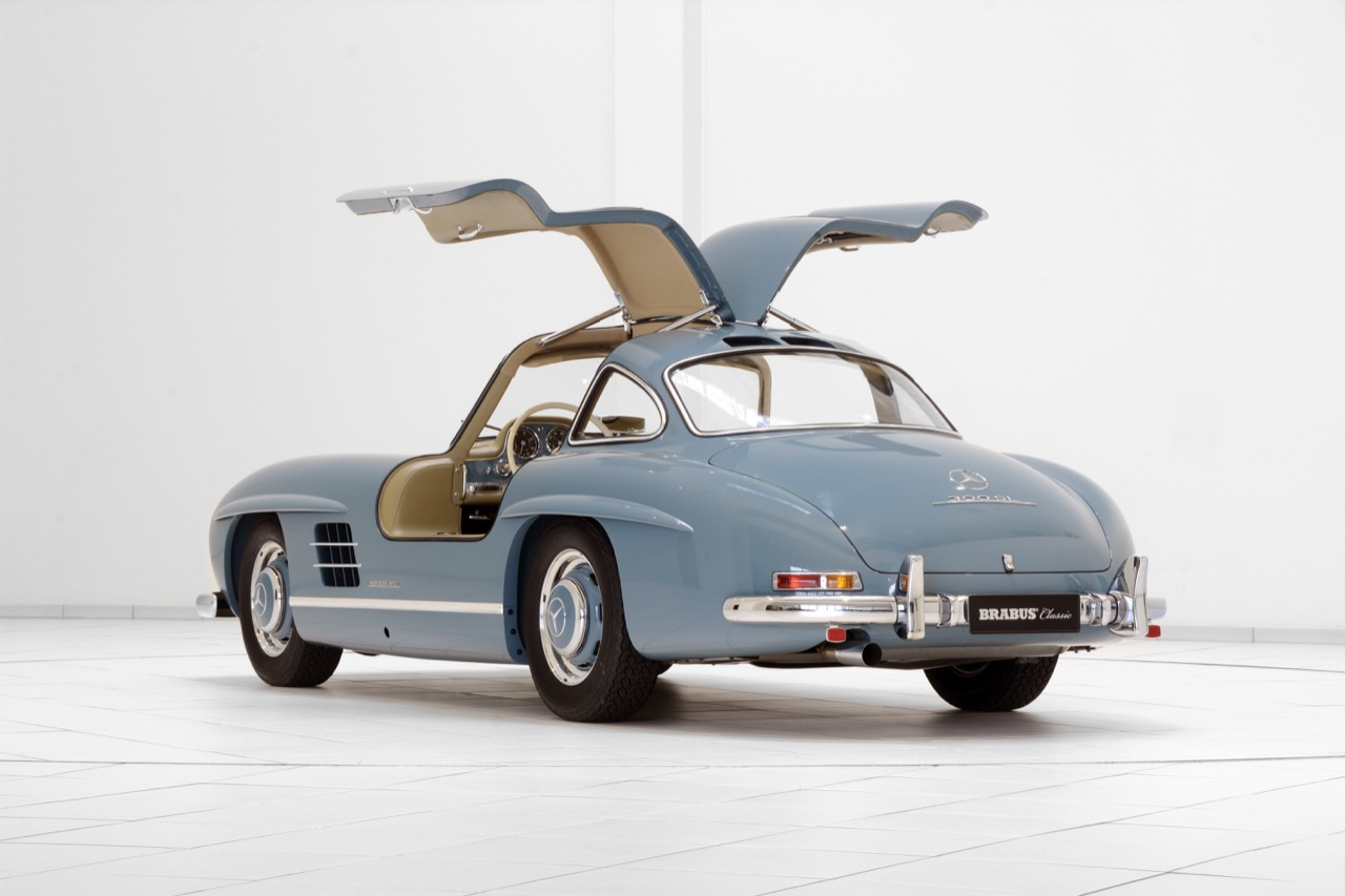 tuners brabus mercedes 300 sl gullwing afbeeldingen. Black Bedroom Furniture Sets. Home Design Ideas