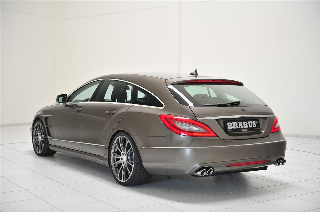 brabus cls63 amg shooting brake is blubberdik. Black Bedroom Furniture Sets. Home Design Ideas
