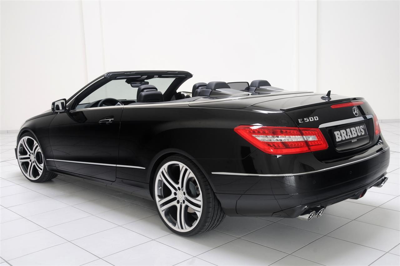 brabus pakt de mercedes e cabriolet aan. Black Bedroom Furniture Sets. Home Design Ideas