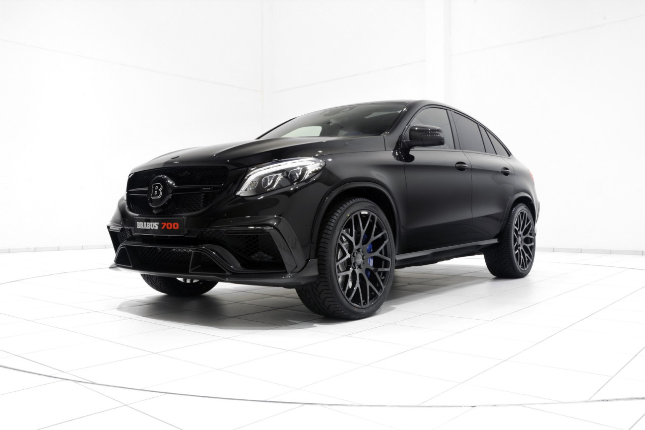 brabus amg gle63 s coup heeft 700 pk en blauw leer. Black Bedroom Furniture Sets. Home Design Ideas