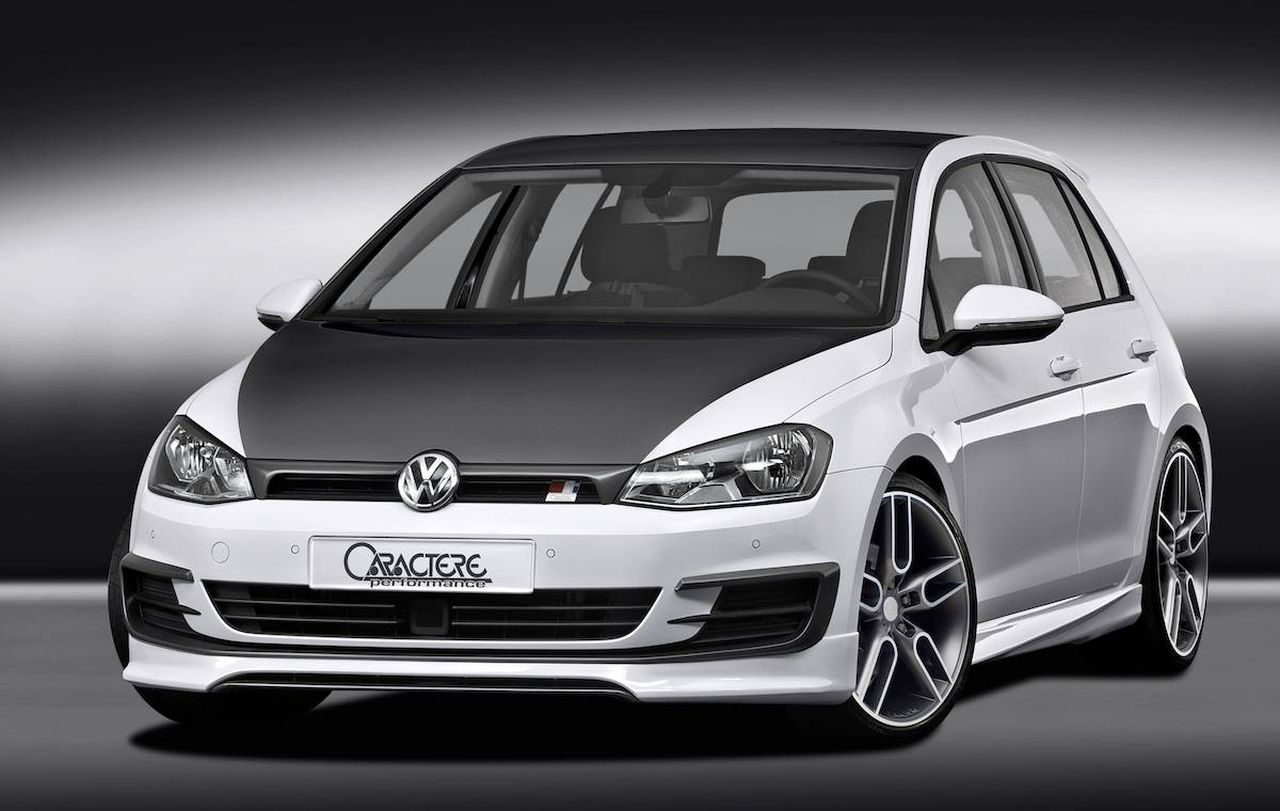 volkswagen golf aangepakt door caractere. Black Bedroom Furniture Sets. Home Design Ideas