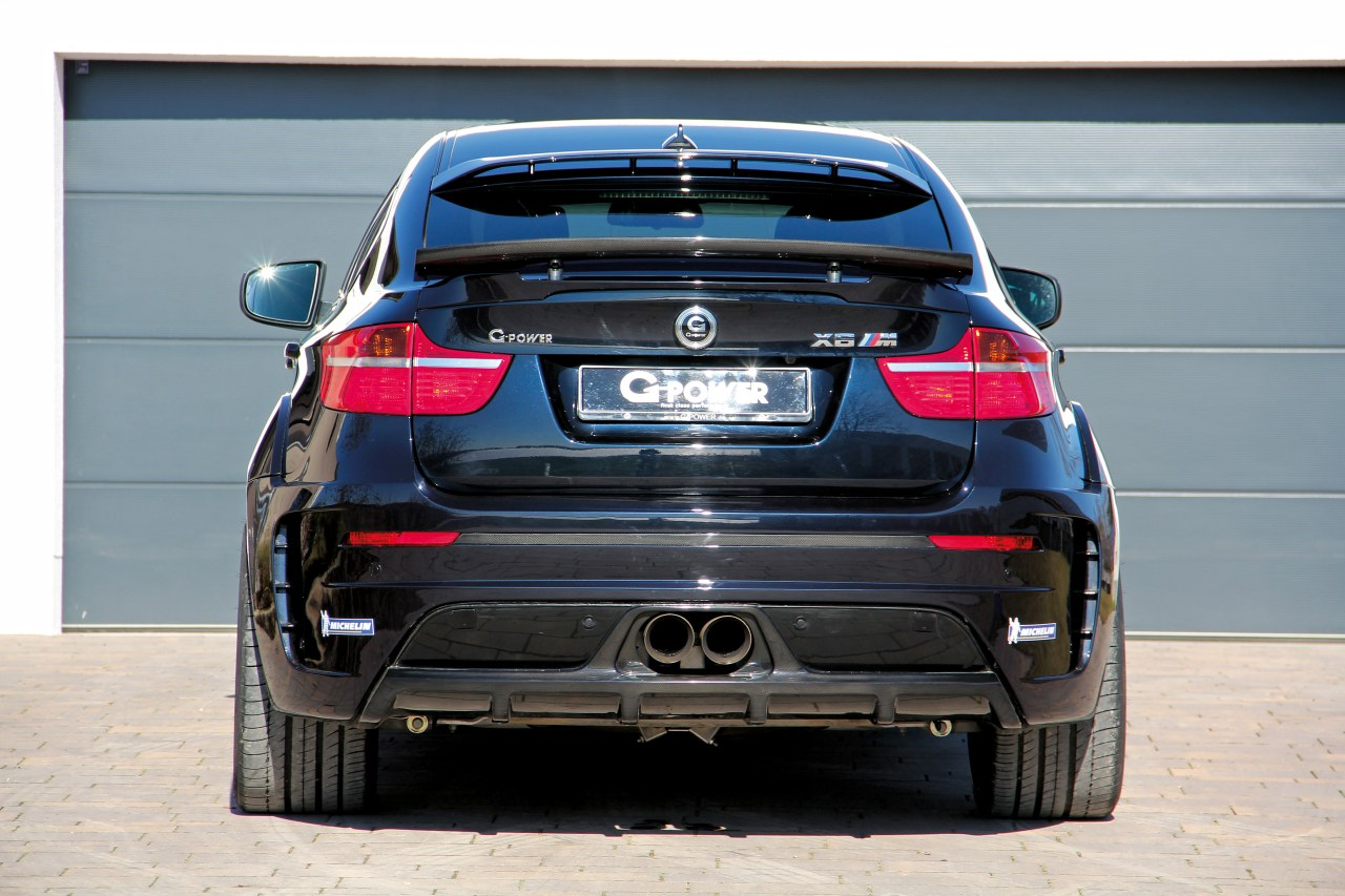G Power Bmw X6 M Typhoon Carbonfeestje Met 725 Pk