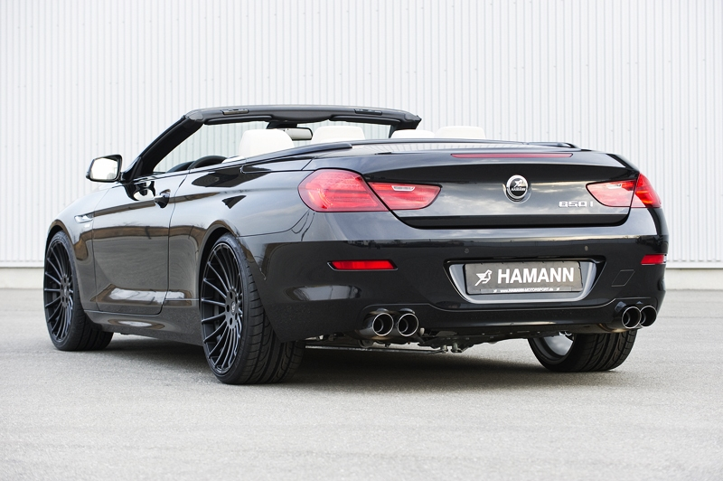 foto tuners hamann bmw 6 serie cabrio 2011 hamann bmw 6. Black Bedroom Furniture Sets. Home Design Ideas