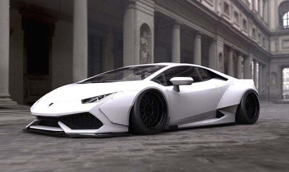 lamborghini huracan white - photo #41