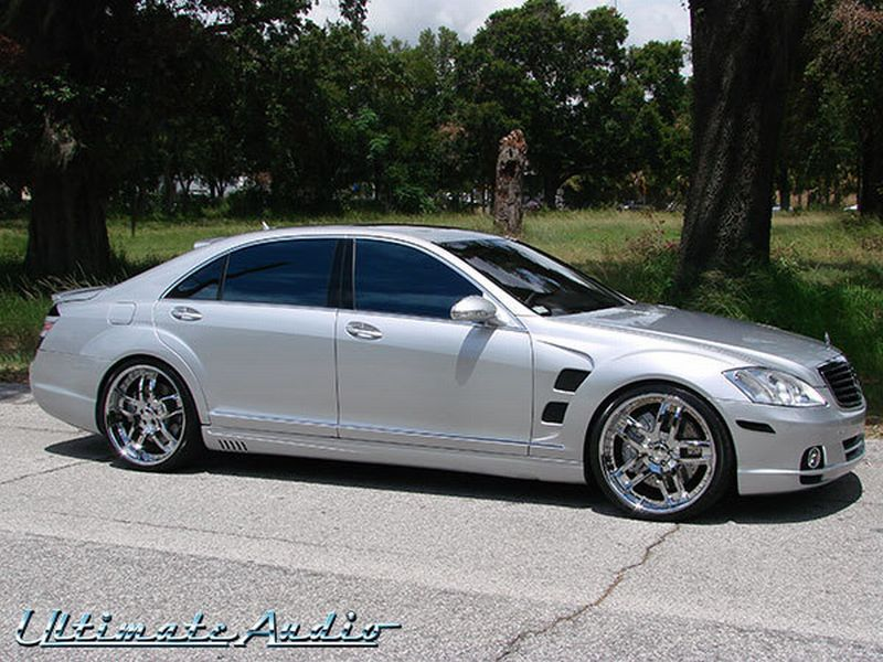 Wansmaak much mercedes s63 amg lorinser for Custom mercedes benz for sale