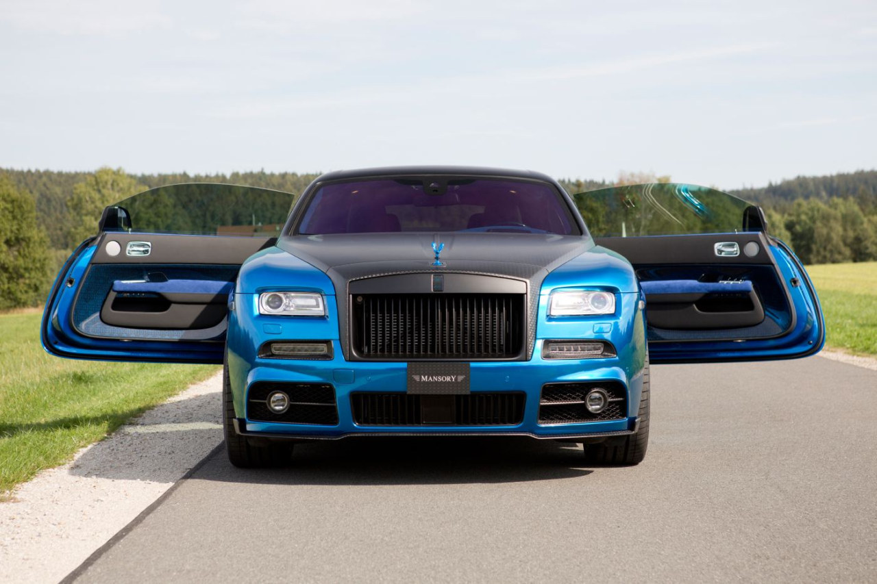 Foto Tuners Mansory Rolls Royce Wraith Bleurion 2015