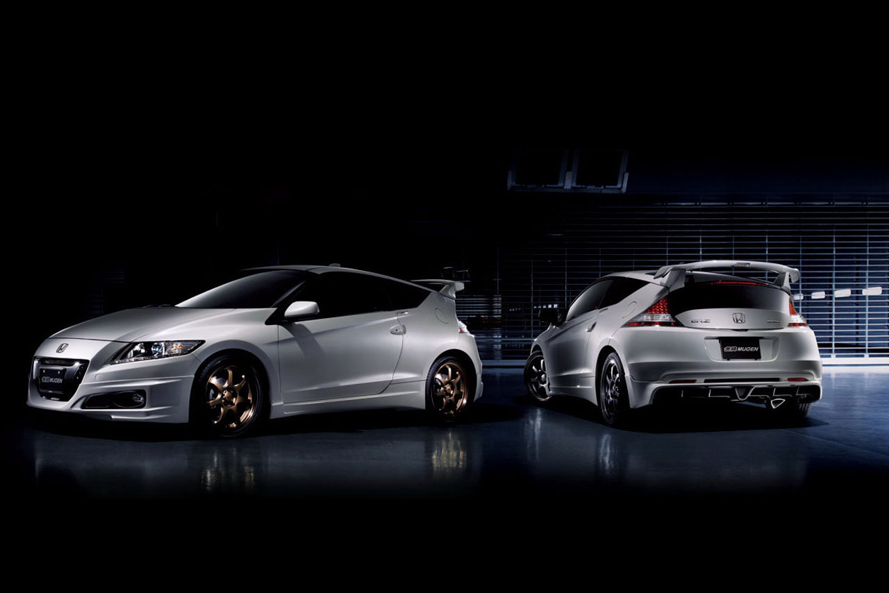 tuner mugen overdrijft met de honda cr z. Black Bedroom Furniture Sets. Home Design Ideas