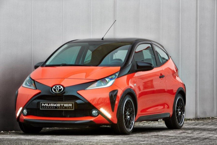 tuners musketier toyota aygo 2015 afbeeldingen. Black Bedroom Furniture Sets. Home Design Ideas