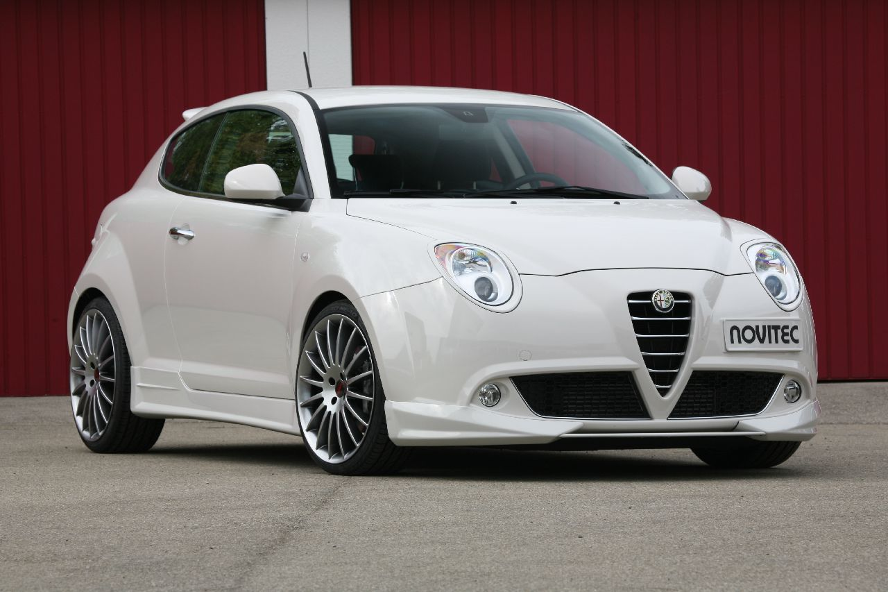 foto tuners novitec alfa romeo mito alfa romeo mito. Black Bedroom Furniture Sets. Home Design Ideas