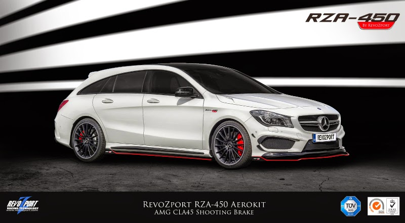 foto tuners revozport mercedes cla45 amg shooting brake revozport mercedes cla45 amg shooting. Black Bedroom Furniture Sets. Home Design Ideas