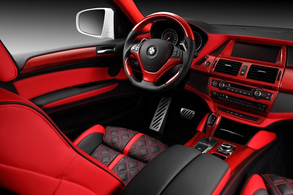 Tuners topcar bmw x6 interieur afbeeldingen for Interieur x6