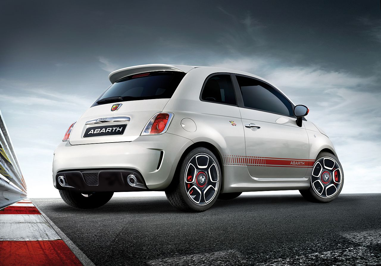 foto abarth fiat 500 fiat 500 abarth 1. Black Bedroom Furniture Sets. Home Design Ideas