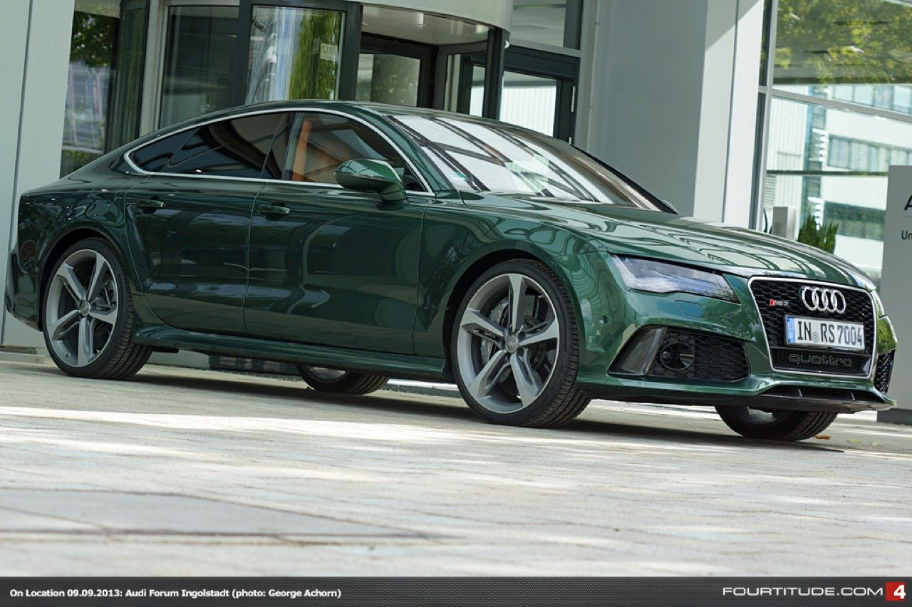 Emerald Green Paint Code Audi