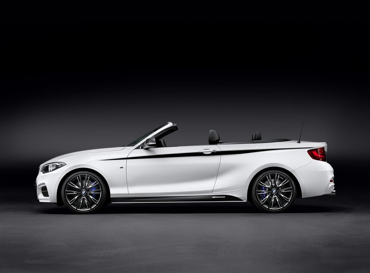 bmw 2 serie cabrio krijgt m performance goodies. Black Bedroom Furniture Sets. Home Design Ideas